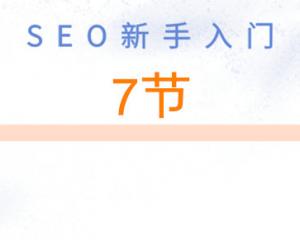 第7节:网站URL链接优化规范