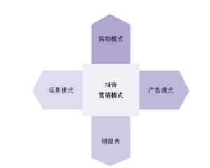 抖音推广营销的4个模式